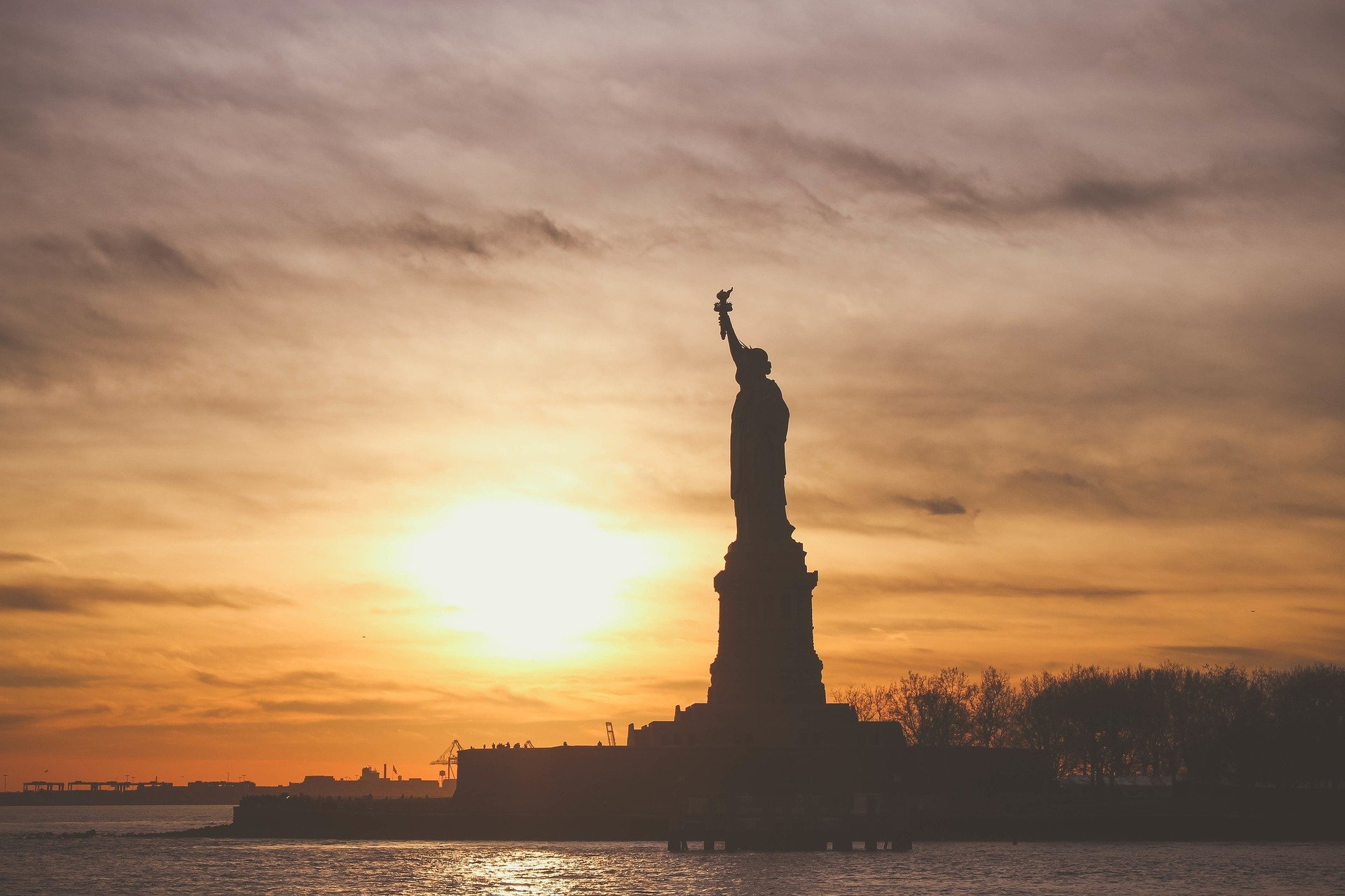 A photo of the Statue of Liberty in New York City